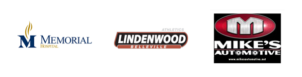 Turf Sponsors Memorial Hospital Lindenwood Belleville Mike's Automotive