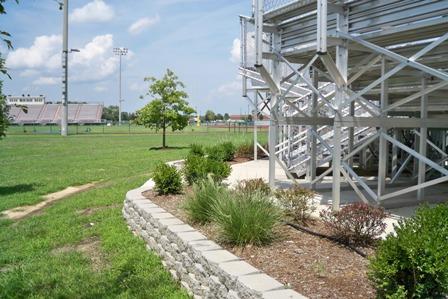 Softball Field Landscaping