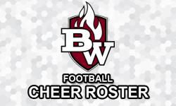 2016-2017 BW Football Cheerleaders Roster