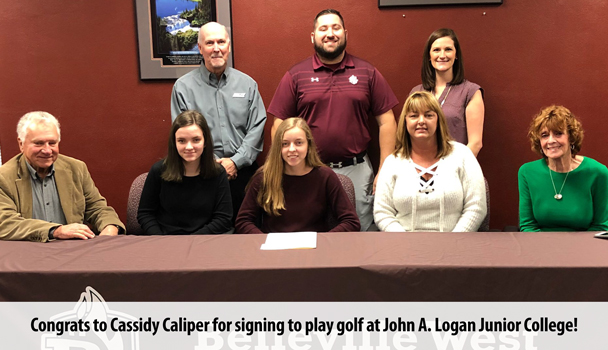 Cassidy Caliper signs letter of intent