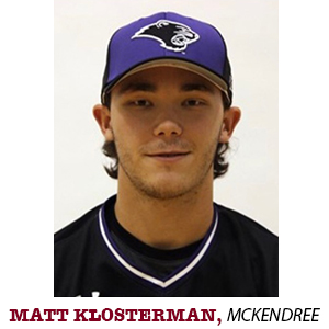 Matt Klosterman McKendree