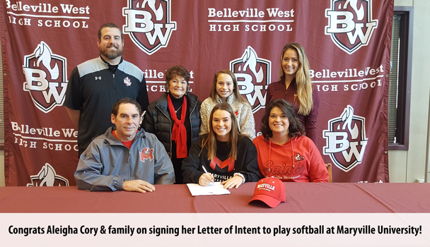 College Signing Aleigha Cory
