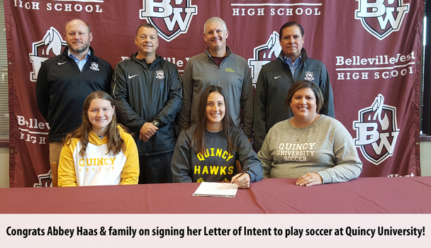 College Signing Abbey Haas