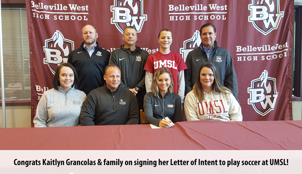 College Signing Kaitlyn Grancolas