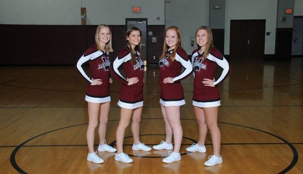 Seniors Basketball Cheer