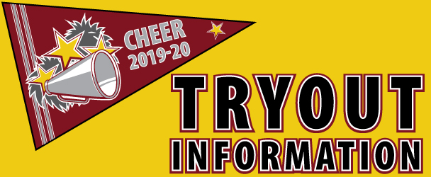 Cheer Tryout Information 2019-20
