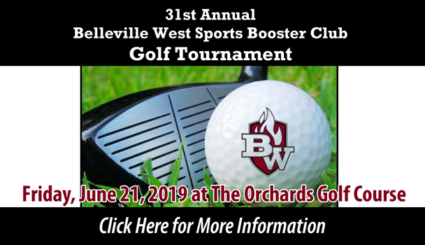 31st Annual Belleville West Sports Booster Club Golf Tournament