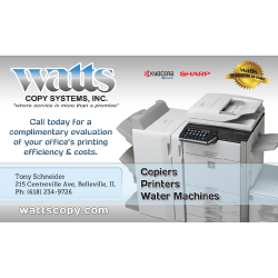 Watts Copy Systems Inc. ad