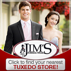 Jim's Formal Wear ad