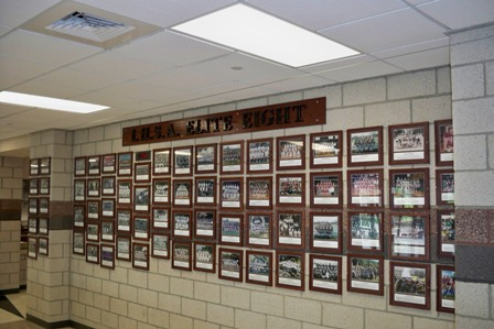 Elite Eight Recognition Wall