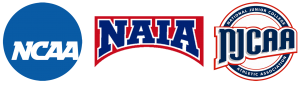NCAA NAIA NJCAA logos