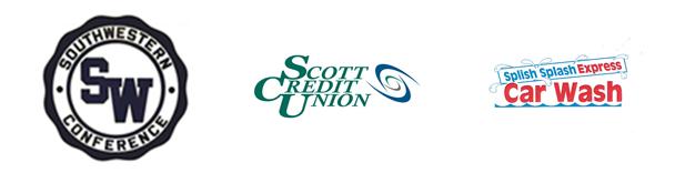Turf Sponsors Southwestern Conference Scott Credit Union Splish Splash Express Car Wash