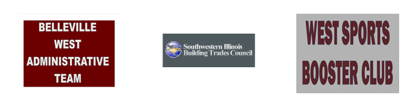 Turf Sponsors West Administrative Team Southwestern Illinois Building Trades Council West Booster Club