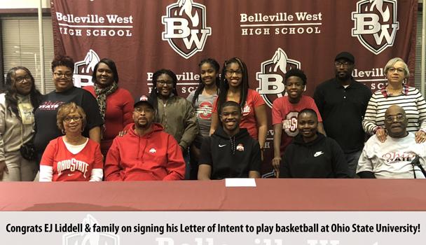 College Signing EJ Liddell