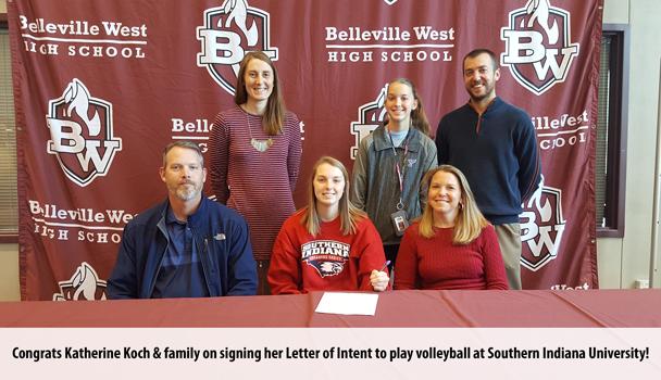 College Signing Katherine Koch