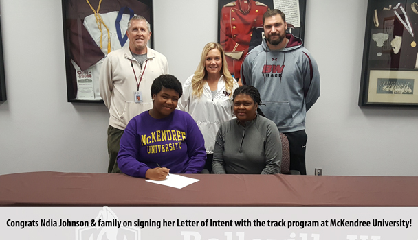 College Signing Ndia Johnson