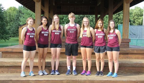 Cross Country Team Seniors