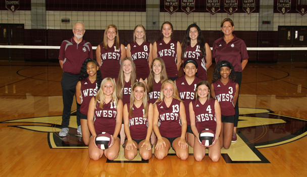 Girls Freshman Volleyball Team