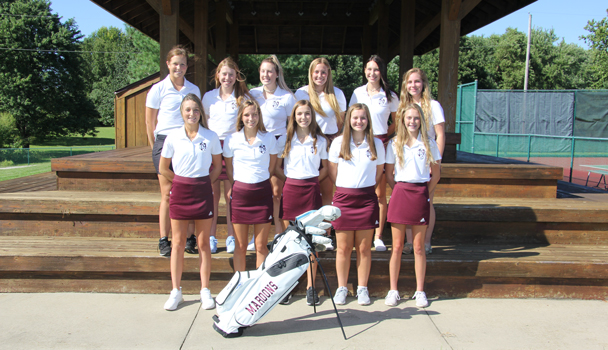 Girls JV Golf Team