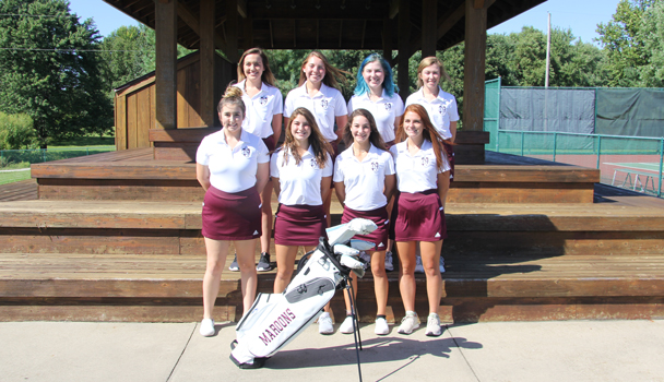 Girls Golf Seniors
