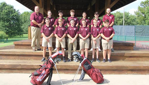 JV Boys Golf Team
