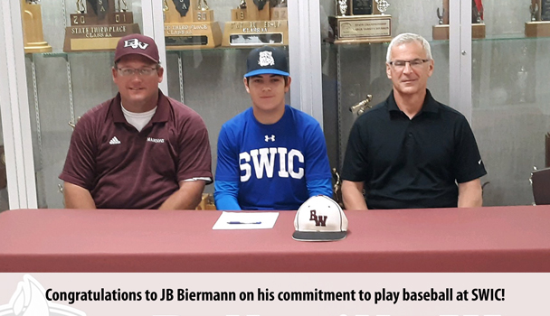 College Signing JB Biermann