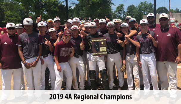 Boys Baseball 2019 Regional Champs