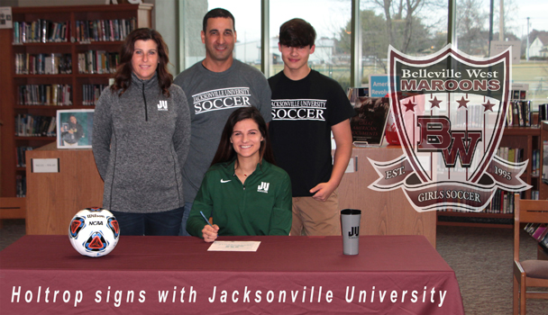 Holtrop signs with Jacksonville University