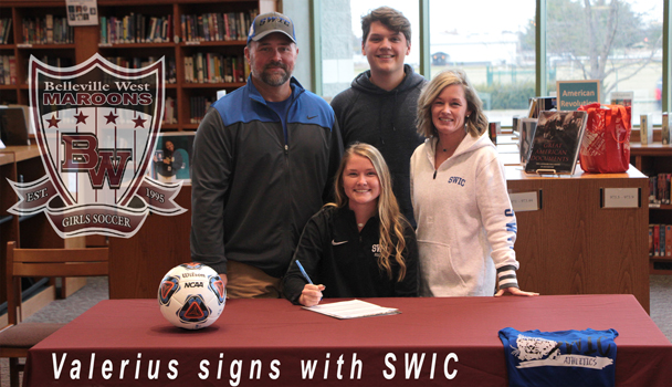 Valerius signs with SWIC