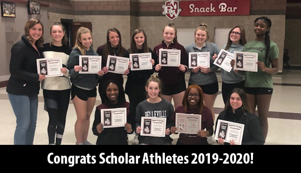 Congrats Scholar Athletes 2019-2020