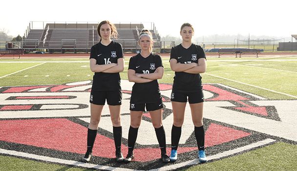 Girls Senior Soccer Players