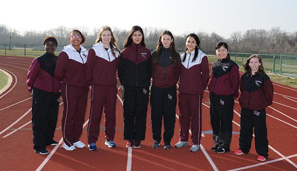 Seniors Girls Track