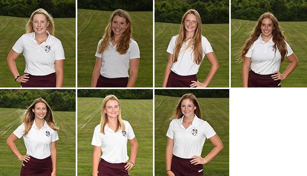 Girls Varsity Golfers