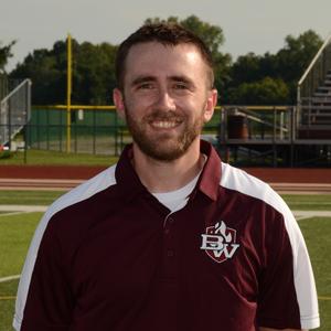 Assistant Coach Caleb Hawkins